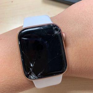 Series 4 Apple Watch 40mm Aluminum Gold